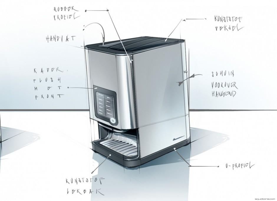 Squidbone?Design concept coffee machine - Squidbone?